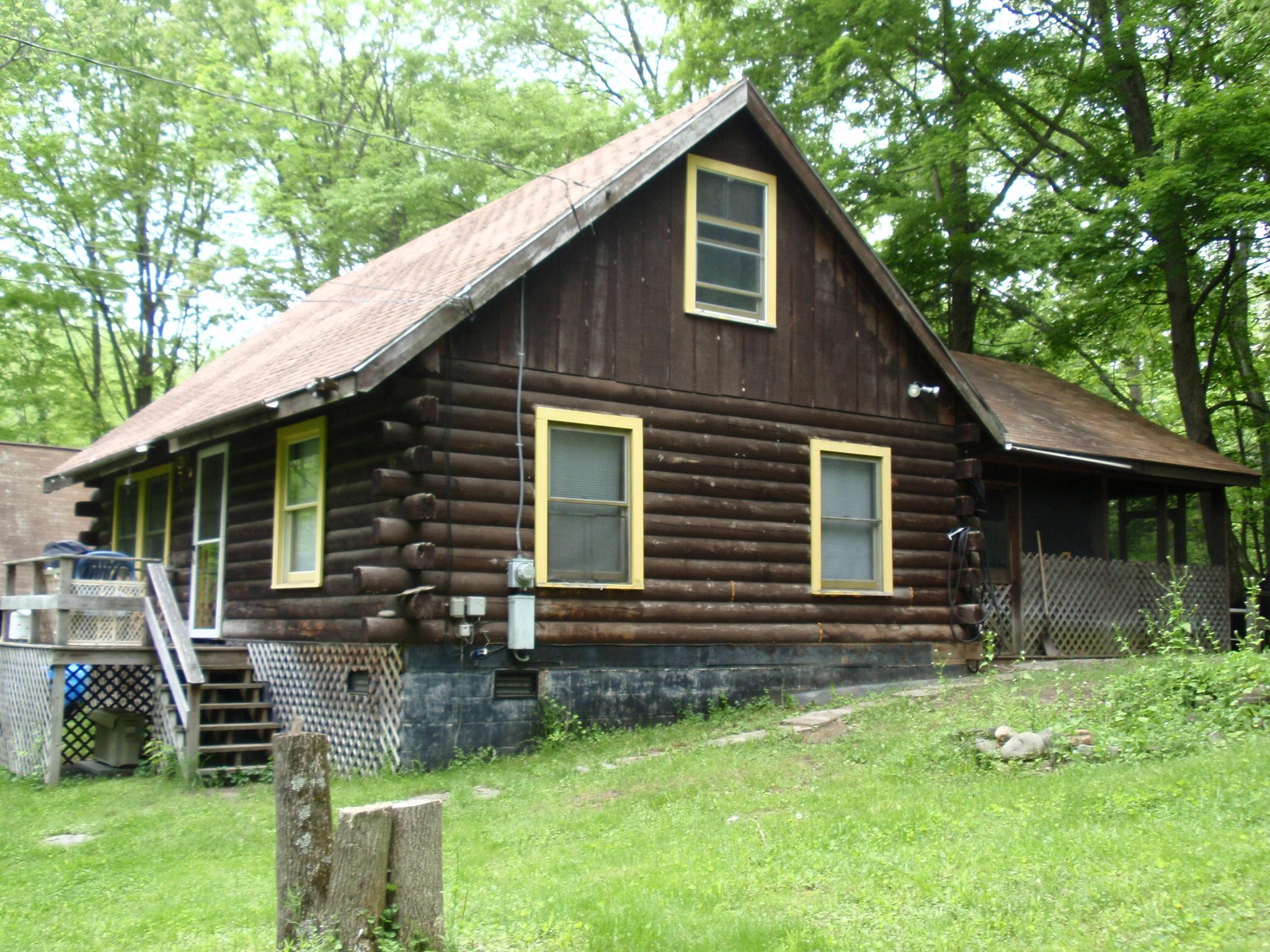Appalachian Log Home Repair Home
